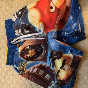 Angry Birds Size 4-5. NWOT. Uber cute.